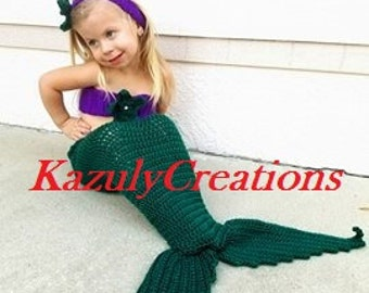 baby mermaid outfit etsy - Baby Mermaid Halloween Costume