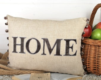 Home cushion, housewarming gift, moving home, house moving gift