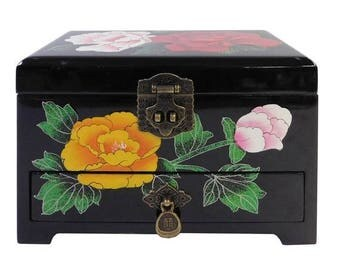 Chinese Lacquer Box Etsy
