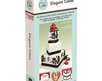 Cricut Cake Cartridges -  Elegant Cakes - Linked Cartridges.