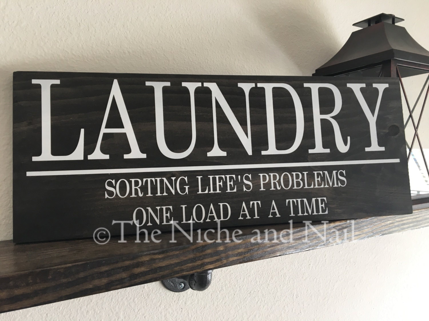 Laundry room sign rustic home decor handmade decor laundry for Room decor signs