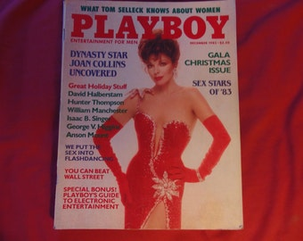 Joan Collins Playboy December 1983