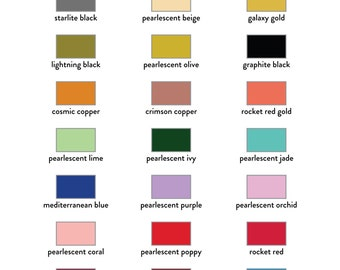 Brilliance Metallic Ink Stamp Pad - Variety of Colors