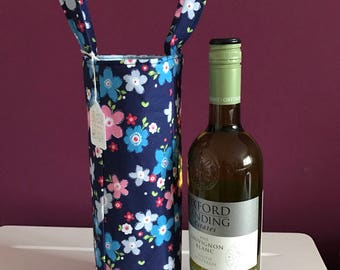 Canvas Wine Bag (Wine not included)