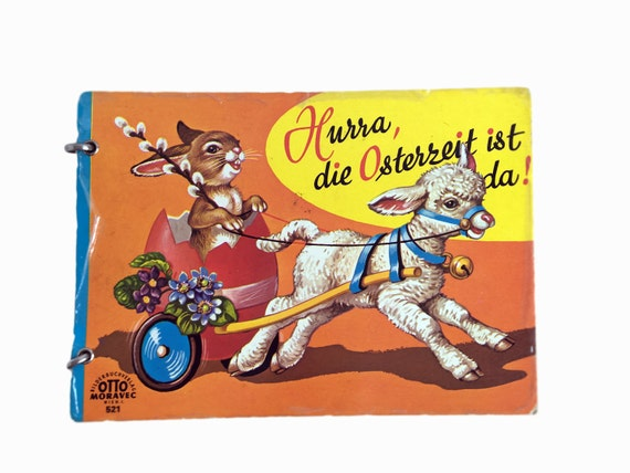 Vintage Kids Easter Book in German