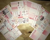 Glamorous Vertical Weekly Kit Planner Stickers for Erin Condren LifePlanners