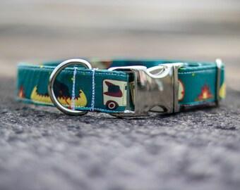 RV Adventure Dog Collar, Dog Collar, Adventure, Collar, Dog, Pet