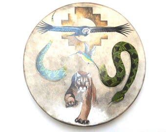 Shaman Drum Andean trilogy (Handebmalt)