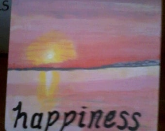 Hand-painted Trinket Boxes (with guided Meditation - Happiness)