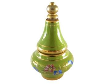 Vintage Bardaco Solid & Liquid Combo Ceramic Perfume Jar