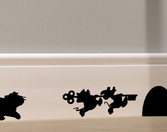 Disney Baseboard Decals