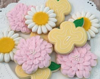 Garden Flower Cookie Set ( 1 Dozen)