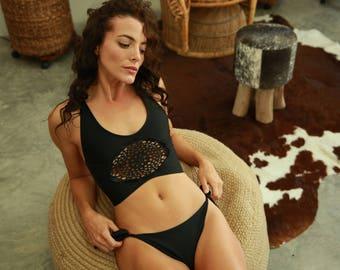 Bikini woman // swimsuit women // bathing suits women // crochet swimsuit // bohemian swimsuit // bathing suits crochet // Coachella