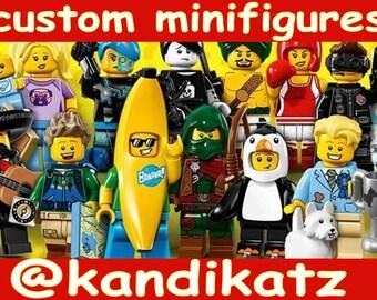 Custom Mini Figures,Block Toys,Elvis,Dracula,Baywatch,Robin Hood,Lincoln,Pocahontis,Wrestler,Pharaoh,Chef,Surfer,Robot,Clown,Cake Topper