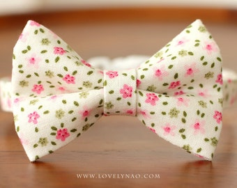 Little Bride Cat Bow Tie Collar