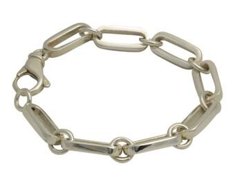 Rectangular Link Bracelet