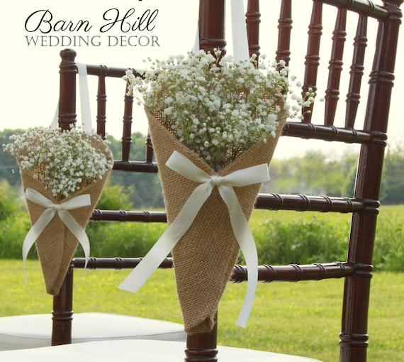 Church Wedding Aisle Decoration Ideas: Pew Cones Wedding Pew Cones Church Aisle Decoration Church