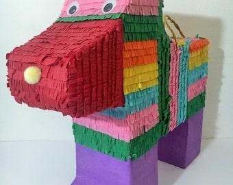Colorful Dog Pinata