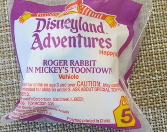 Vintage McDonalds Roger Rabbit Toy Sealed