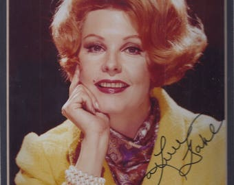 Picture of Arlene Dahl Signed * Double Matted 11 x 14 **with Certificate of Authenticity** (SS)