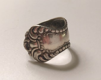 Silverplate Spoon Ring