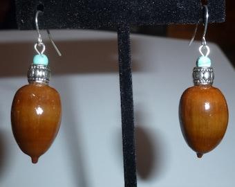 Acorn Earrings #18