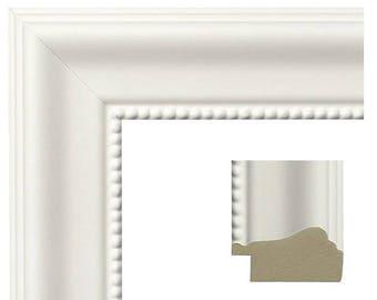Custom Frame white frame
