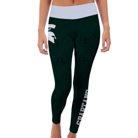 Michigan State Spartans Yoga Pants Designs