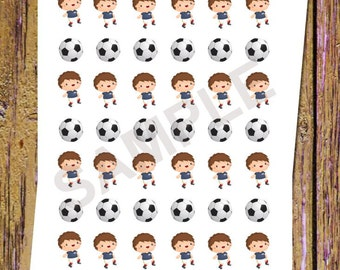 42 Soccer Planner Stickers Soccer Stickers Soccer Game Stickers Functional Stickers Sports Stickers Soccer Class Icon Fitness Stickers A101