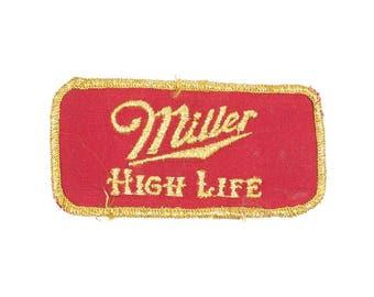 Miller High Life Vintage Patch