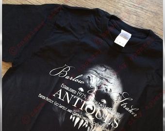 horror movie t-shirt, gift for book lover, gift for horror nerd, horror nerd t-shirt, vampire t-shirt, goth t-shirt, Nameless City Apparel
