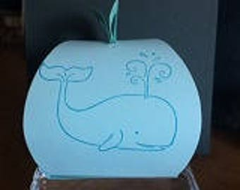 It's a Whale of a Party Treat/gift Boxes (24)