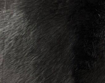 Paris Mink Black Faux Fur Fabric