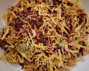 Belle of the Ball - Floral Tea, Loose Leaf, Herbal Tea, Catuaba Bark, Calendula, Hibiscus, Safflower, Vanilla Rooibos, Girl Power, Disney