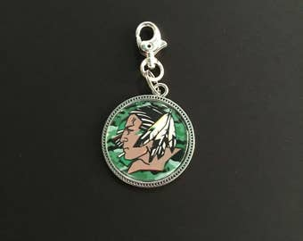Fighting Sioux Keychain