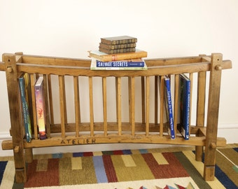 Wooden Plate or Book Rack