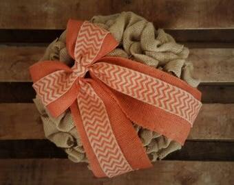 Fall Wreath, Summer Wreath, Everyday Wreath, Housewarming Wreath, Year Round Wreath, Chevron Wreath