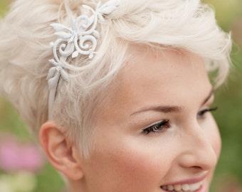 Headband silver