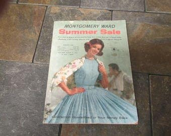 1962  ** Montgomery Ward ** Summer Sale Catalog ** sj