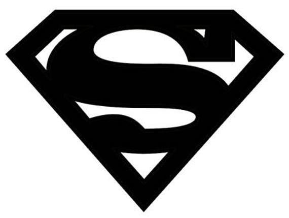 superman symbol stencil made from 4 ply mat board rh etsy com superman logo stencil printable superman logo stencil free