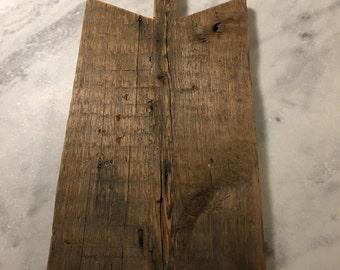 Unique Rustic Cutting Board