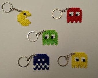 Pacman Keychains - Set of 5