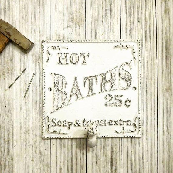 Decorative Bathroom Wall Hooks : Bathroom wall decor towel hook hooks