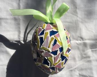 Mosaic Easter Eggs