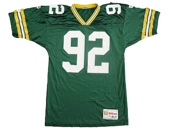 Vintage 90s Green Bay Packers Reggie White Jersey - Vintage 1990s NFL Football Packers Champion Jersey - M