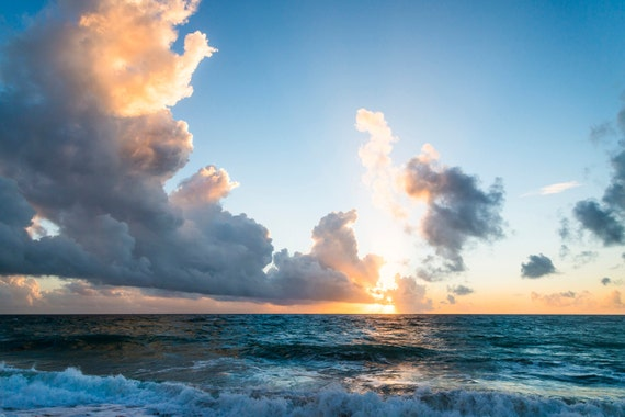 ZAHORA SUNSET 2. Seascape print, Cloudscape, Travel Photography, Andalucia, Photographic Print, Sunset Picture