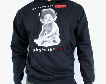 Notorious BIG Sky's The Limit Mens Hoodie Sweatshirt