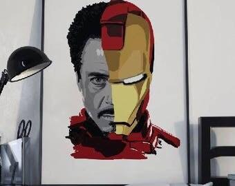Tony Stark Etsy