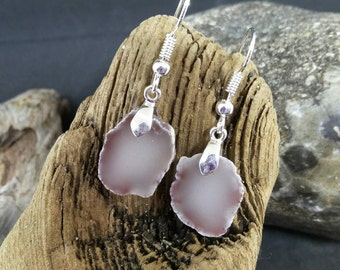 Natural Keweenaw Datolite Earrings