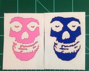 Decal STICKER The Misfits small fiend Skull